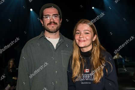 Charlie Spencer and Katie Munshaw of the band Dizzy