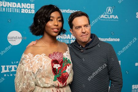Jessica Williams and Ed Helms