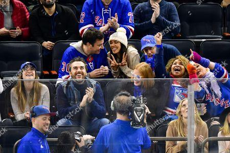 Stock Image of Jimmy Fallon, Anna Christina Schwartz, Gian Luca Passi de Preposulo and Jessica Chastain