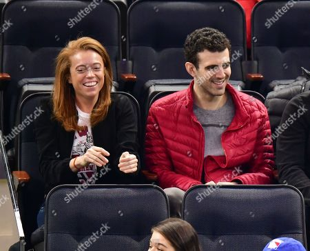 Michelle Wolf and guest