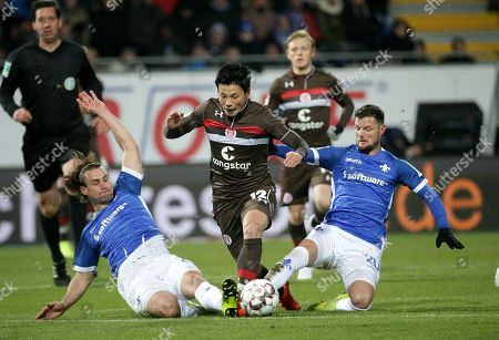 29.01.2019, Merck-stadiumBoellenfallgoal, Darmstadt, GER, 2.FBL, SV Darmstadt 98 vs FC St. Pauli