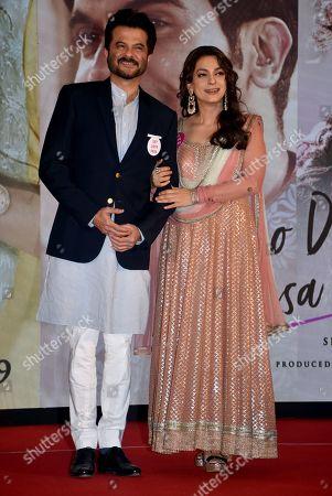 Anil Kapoor and Juhi Chawla