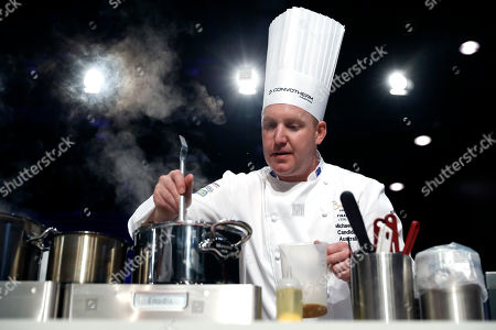 Editorial photo of Bocuse d'Or grand final in Lyon, France - 30 Jan 2019