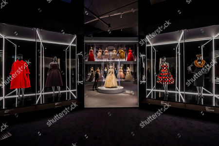 The centre piece of the second room is a dress designed for the 21st birthday of Princess Margaret