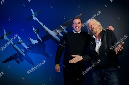 Editorial photo of Sir Richard Branson and Under Armour CEO Kevin Plank, New York, USA - 24 Jan 2019