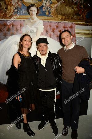 Jemima Jones, Nicky Haslam and Ben Goldsmith