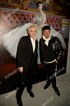 Nick Rhodes and Nicky Haslam