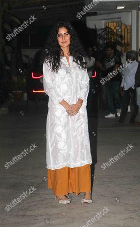 Bollywood actor Katrina Kaif