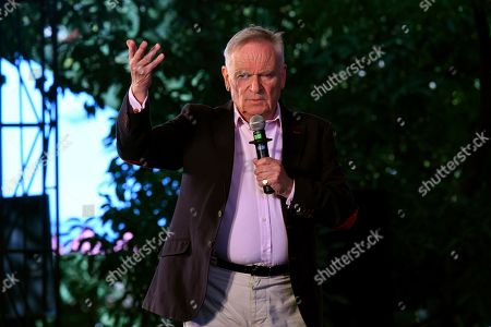 Jeffrey Archer during 'Heads You Win' session