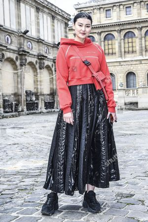 Editorial image of Street Style, Fall Winter 2019, Paris Fashion Week Men's, France - 19 Jan 2019
