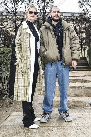 Editorial image of Street Style, Fall Winter 2019, Paris Fashion Week Men's, France - 20 Jan 2019
