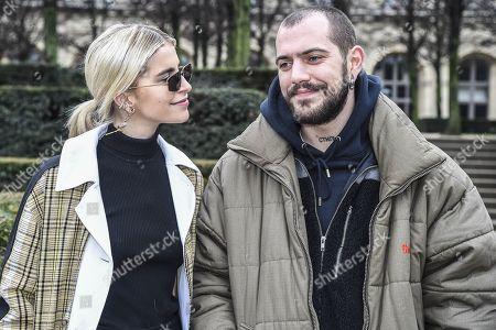Stock Photo of Caroline Daur and Marc Goehring