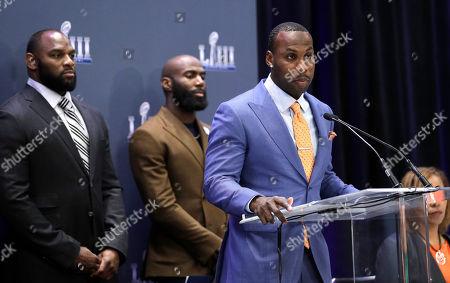 Editorial image of Rams Patriots Super Bowl Football, Atlanta, USA - 30 Jan 2019