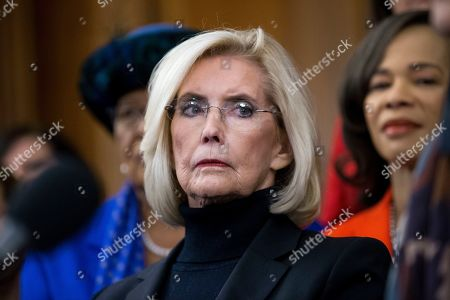 Activist Lilly Ledbetter attends an event with Democratic members of Congress and national organization members to reintroduce the Paycheck Fairness Act, on Capitol Hill in Washington, DC, USA, 30 January 2019. Democratic members of Congress reintroduce the Paycheck Fairness Act ten years after former US President Barack Obama signed into law the the Lilly Ledbetter Fair Pay Act. The legislation intends to close the pay gap between men and women by requiring equal pay for equal work.