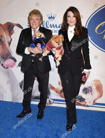 Ken Todd, Lisa Vanderpump-Todd, Giggy and Prince