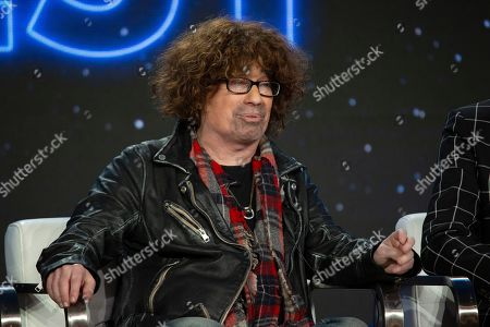 Mike Darnell participates in the 'The World's Best' show panel during the CBS presentation at the Television Critics Association Winter Press Tour at The Langham Huntington, in Pasadena, Calif