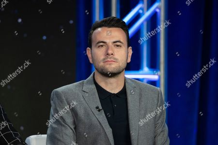 """Ben Winston participates in the """"The World's Best"""" show panel during the CBS presentation at the Television Critics Association Winter Press Tour at The Langham Huntington, in Pasadena, Calif"""
