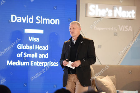 David Simon of Visa talks about the company's commitment to helping small businesses in Atlanta on . A sold out crowd of hundreds of female small business owners participated in learning sessions and networking opportunities to support and grow their businesses. She's Next, Empowered by Visa, is a new global initiative dedicated to supporting and championing women-owned businesses