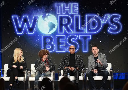 RuPaul, Mike Darnell, Alison Holloway and Ben Winston