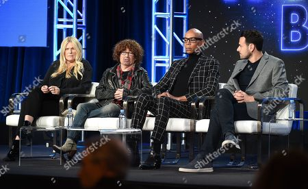 Stock Photo of RuPaul, Mike Darnell, Alison Holloway and Ben Winston