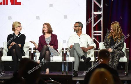 Stock Photo of Caitlin Parrish, Erica Weiss, Sunil Nayar and Sarah Schechter