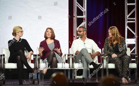 Caitlin Parrish, Erica Weiss, Sunil Nayar and Sarah Schechter