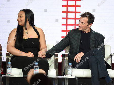 Aliyah Royale and Noah Wyle