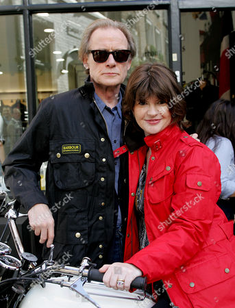 Helen Barbour and actor Bill Nighy