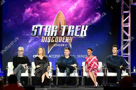 Editorial photo of CBS 'Star Trek: Discovery' TV show panel, TCA Winter Press Tour, Los Angeles, USA - 30 Jan 2019
