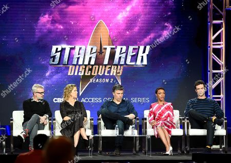 Editorial picture of CBS 'Star Trek: Discovery' TV show panel, TCA Winter Press Tour, Los Angeles, USA - 30 Jan 2019