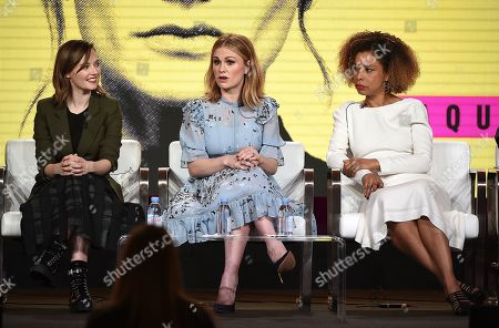 Lydia Wilson, Anna Paquin and Sophie Okonedo