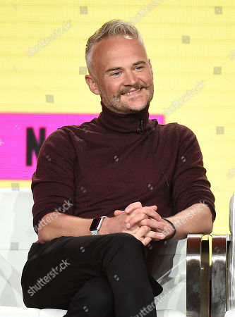 Editorial picture of Pop TV 'Flack' TV show panel, TCA Winter Press Tour, Los Angeles, USA - 30 Jan 2019