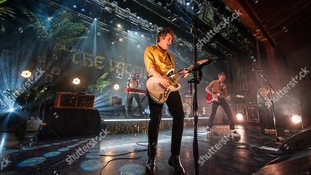 Editorial picture of The Vaccines in concert at Motherwell Civic Concert Hall, Motherwell, UK - 30 Jan 2019