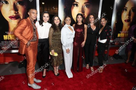 Ismael Cruz Cordova, Cristina Rodlo, America Ferrera, Eva Longoria, Gina Rodriguez, Christina Milian