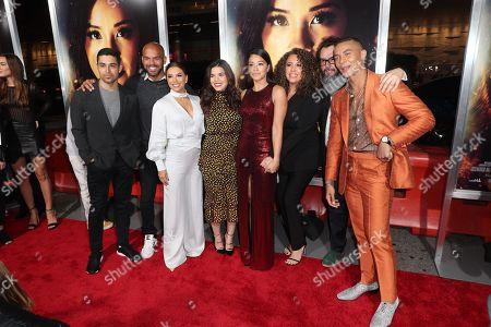 Wilmer Valderrama, Eva Longoria, America Ferrera, Gina Rodriguez, Pablo Cruz, Ismael Cruz Cordova