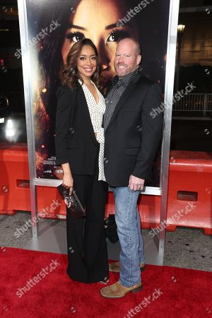 Gina Torres and Kevin Wright