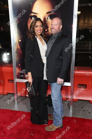 Stock Image of Gina Torres and Kevin Wright