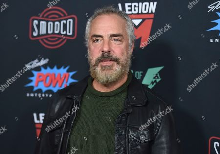 Titus Welliver arrives at Excelsior! A Celebration of the Amazing, Fantastic, Incredible & Uncanny Life of Stan Lee, at the TCL Chinese Theatre in Los Angeles
