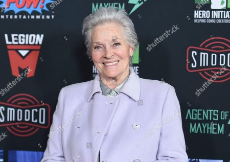 Lee Meriwether arrives at Excelsior! A Celebration of the Amazing, Fantastic, Incredible & Uncanny Life of Stan Lee, at the TCL Chinese Theatre in Los Angeles