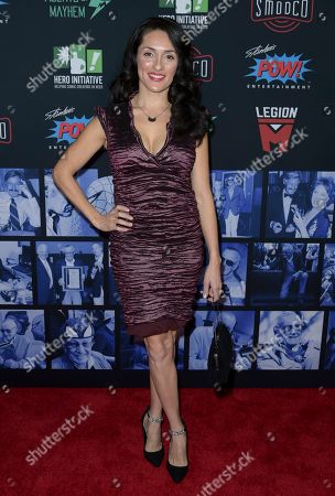 Mirelly Taylor arrives at Excelsior! A Celebration of the Amazing, Fantastic, Incredible & Uncanny Life of Stan Lee, at the TCL Chinese Theatre in Los Angeles