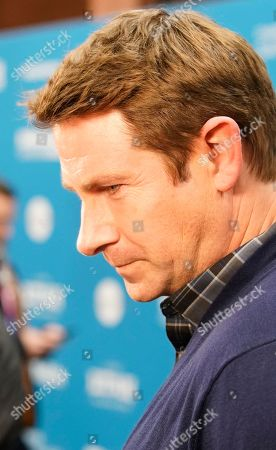 Derek Cecil talks to the press as he arrives for the premiere of ''The Tomorrow Man'' at the 2019 Sundance Film Festival in Park City, Utah, USA, 30 January 2019. The festival runs from 24 January to 02 February 2019.
