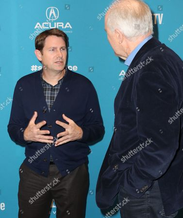 Derek Cecil (L) and USA actor John Lithgow (R) arrives for the premiere of ''The Tomorrow Man'' at the 2019 Sundance Film Festival in Park City, Utah, USA, 30 January 2019. The festival runs from 24 January to 02 February 2019.
