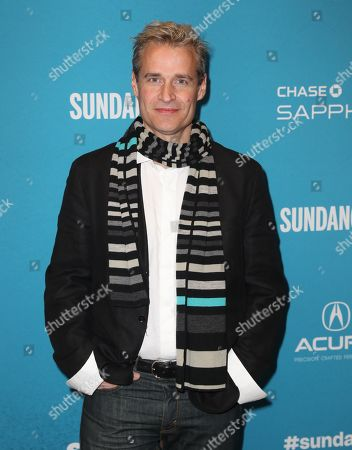 Stock Image of Paul Leonard-Morgan arrives for the premiere of ''The Tomorrow Man'' at the 2019 Sundance Film Festival in Park City, Utah, USA, 30 January 2019. The festival runs from 24 January to 02 February 2019.
