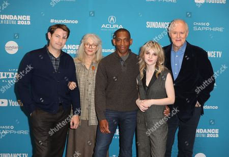 Derek Cecil, US actress Blythe Dnner, US director Noble Jones, US actress Sophie Thatcher and US actor John Lithgow arrive for the premiere of ''The Tomorrow Man'' at the 2019 Sundance Film Festival in Park City, Utah, USA, 30 January 2019. The festival runs from 24 January to 02 February 2019.