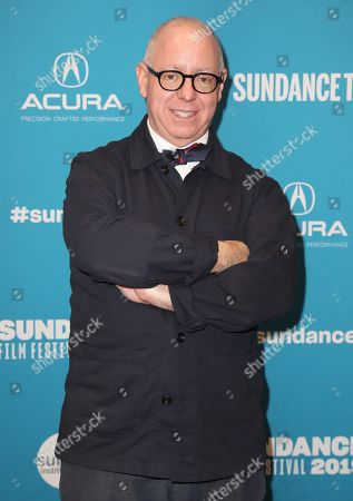 James Schamus arrives for the premiere of ''The Tomorrow Man'' at the 2019 Sundance Film Festival in Park City, Utah, USA, 30 January 2019. The festival runs from 24 January to 02 February 2019.