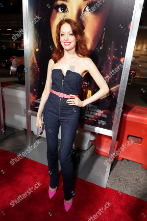 Editorial photo of Columbia Pictures presents the world film premiere of 'Miss Bala' at Regal L.A. Live, Los Angeles, CA, USA - 30 Jan 2019