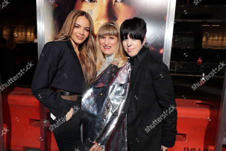 Leslie Grace, Catherine Hardwicke, Director/Executive Producer, and Diane Warren