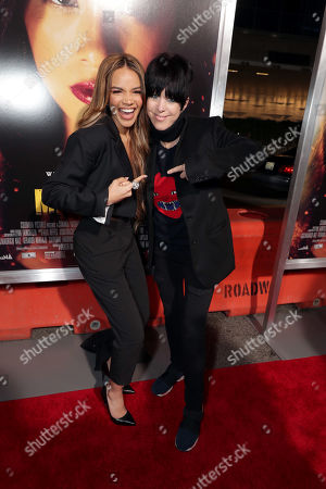 Stock Picture of Leslie Grace and Diane Warren