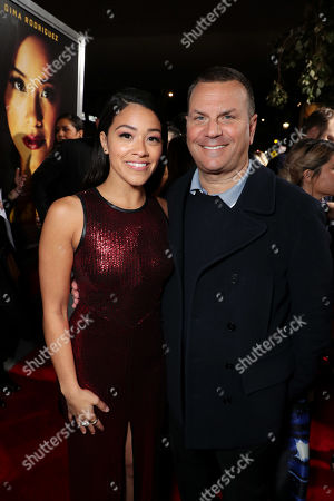 Gina Rodriguez and Kevin Misher, Producer,