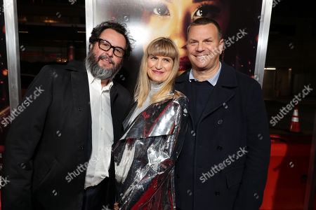 Pablo Cruz, Producer, Catherine Hardwicke, Director/Executive Producer, and Kevin Misher, Producer,